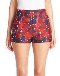 Diane von Furstenberg Camry Side Zip Shorts