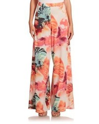 Alice + Olivia Alice And Olivia Super Flared Wide Leg Pants