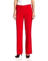 Jones New York Modern Fit Wide Leg Pant