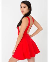 American apparel ponte sleeveless skater dress medium 242839