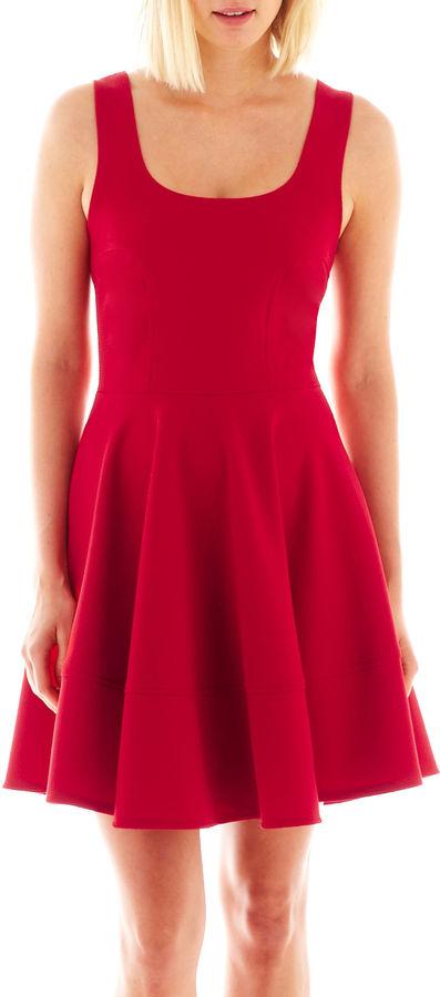 Jcpenney She Soul Harmony Energy Sleeveless Flared Dress