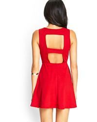 36f74c2672d ... Forever 21 Tribal Inspired Skater Dress