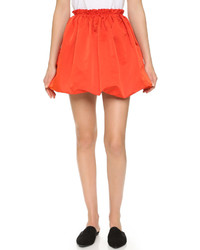 Alexander ueen crinkled skirt medium 532999