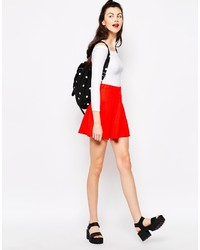Monki Mini Skater Skirt