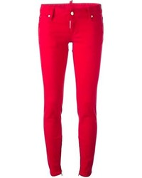 Red skinny jeans original 3874157