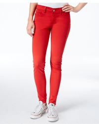 Levi's 710 Red Wash Super Skinny Jeans