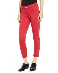PROSPERITY DENIM Cuffed Skinny Jeans