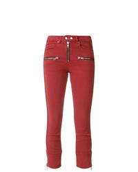 Isabel Marant Etoile Isabel Marant Toile Pelona Biker Skinny Jeans