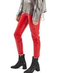 Jamie vinyl skinny jeans medium 1249566
