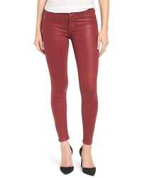 Hudson Jeans Coated Super Skinny Jeans
