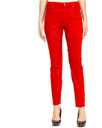 Style&co. Jeans Skinny Leg Colored Wash
