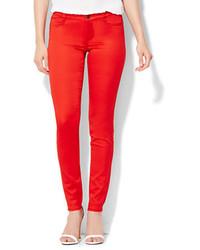 New York & Co. Soho Jeans Color Superstretch Legging Released Hem