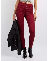 Charlotte Russe Refuge Hi Waist Skinny Jeans