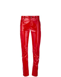 Wandering Varnished Slim Trousers
