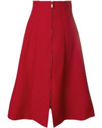 Fendi A Line Midi Skirt