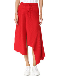 MARQUES ALMEIDA Panelled Asymmetrical Midi Skirt