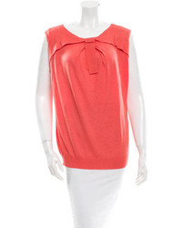 Valentino Scoop Neck Top W Tags