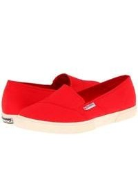 Red slip on sneakers original 9765337
