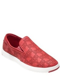 Grandpro perforated slip on sneaker medium 4912696
