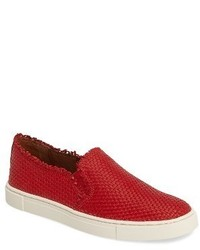 Ivy fray woven slip on sneaker medium 3714877