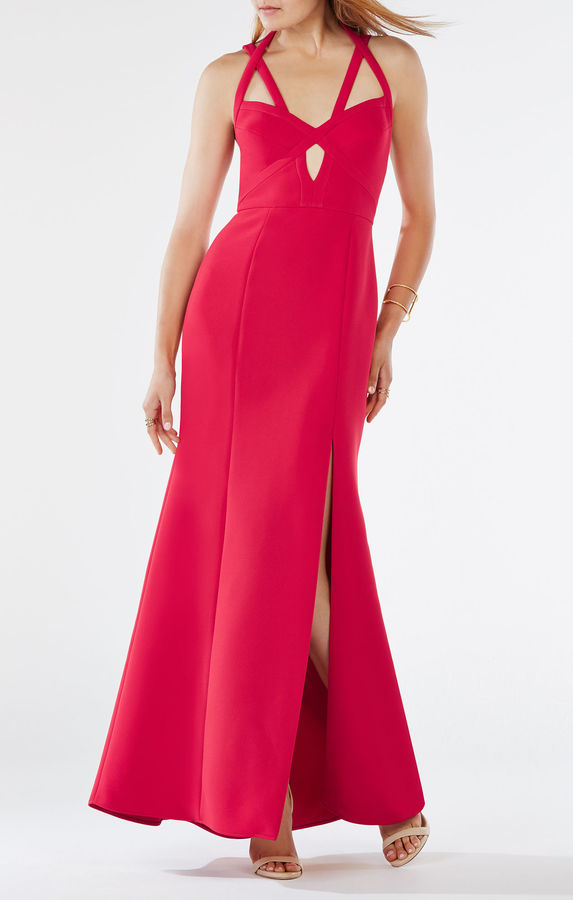 BCBGMAXAZRIA Madilynn Cutout Gown | Where to buy & how to wear