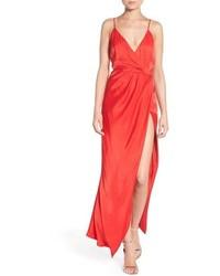 Bella satin maxi dress medium 972350