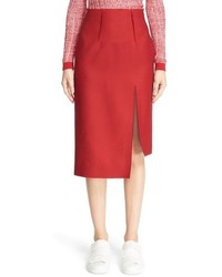 Acne Studios Lynton Asymmetrical Pencil Skirt