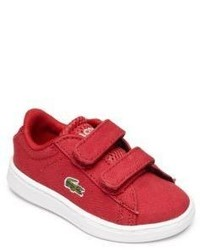 Lacoste Babys Toddlers Carnaby Grip Tape Sneakers
