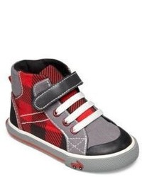 See Kai Run Babys Toddlers High Top Canvas Sneakers