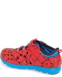 Stride Rite Infant Boys Made2play Phibian Spiderman Sneaker