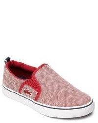 Lacoste Kids Gazon Slip On Sneakers