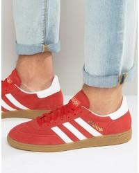 vendaje 945 Víctor  adidas Originals Spezial Sneakers In Red S81823, $85   Asos   Lookastic.com