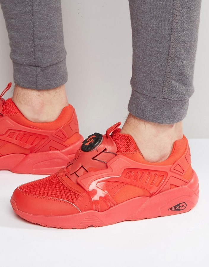 nouveaux styles 427bf d37eb $154, Puma Disc Blaze Ct Sneakers In Red 36204004
