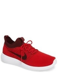 Nike Roshe Deux Tabac Rouge Flyknit V2