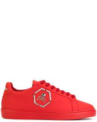 af38451ba1 Men's Red Sneakers by Philipp Plein | Men's Fashion | Lookastic.com