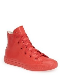Converse Toddler Chuck Taylor All Star Waterproof Rubber Rain Sneaker Size 13 M Red
