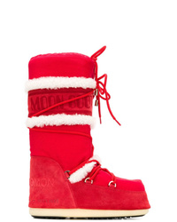 Yves Salomon Lace Up Moon Boots