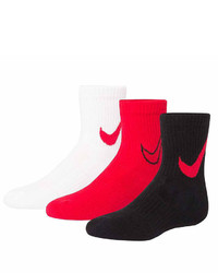 Nike 3 Pc Crew Socks  Boys X Small