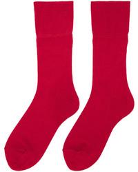 Comme des Garcons Comme Des Garons Red Long Socks
