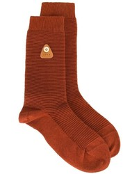 Folk Ribbed Socks