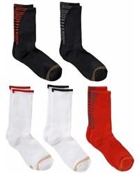 Gold Toe Goldtoe Boys Goldtoe 5 Pack Ultra Tec Crew Socks