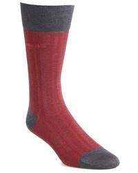 BOSS Paul Cotton Blend Crew Socks