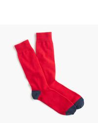 Solid cotton socks medium 753806