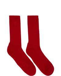 AMI Alexandre Mattiussi Three Pack Multicolor Ami De Coeur Socks