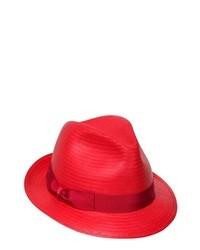 Borsalino Paper Trilby Hat