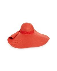 Nordstrom Drama Floppy Brim Straw Sun Hat