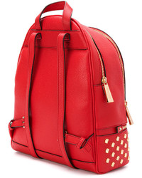 1f2fc6da25a7 ... Red Studded Leather Backpacks MICHAEL Michael Kors Michl Michl Kors  Rhea Studded Backpack MICHAEL Michael Kors Michl Michl Kors Rhea Studded  Backpack ...