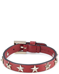 Star studded leather bracelet medium 824592