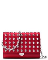 Michl kors collection yasmeen small studded leather clutch medium 4397215