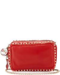 Piloutin studded wristlet clutch bag red medium 524918